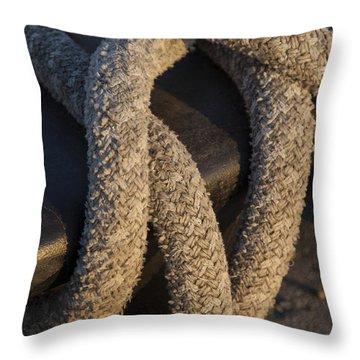 Tie Down Throw Pillow
