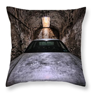Tight Squeeze Throw Pillow by Andrew Paranavitana