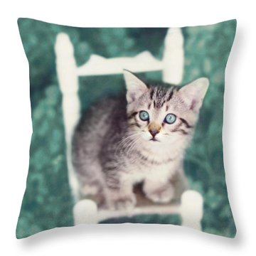 Time Out Throw Pillow by Amy Tyler