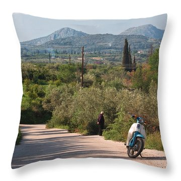 Throw Pillow featuring the photograph Time Out by Shirley Mitchell