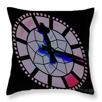 Throw Pillow featuring the photograph Time Waits For No Man by Blair Stuart