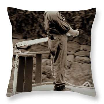Throw Pillow featuring the photograph Timeless Serenity by Suzanne Stout