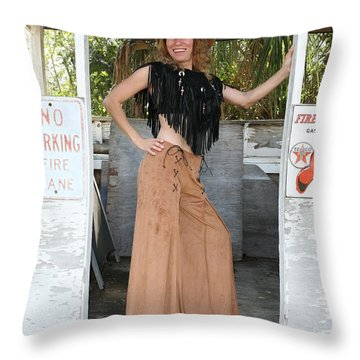 Tina Loy 674 Throw Pillow