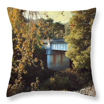 To Get To You Throw Pillow by Laurie Search