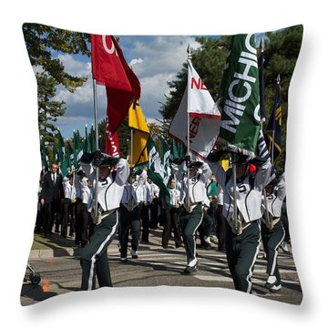 To The Field Throw Pillow