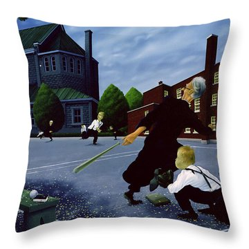 Softball Throw Pillows