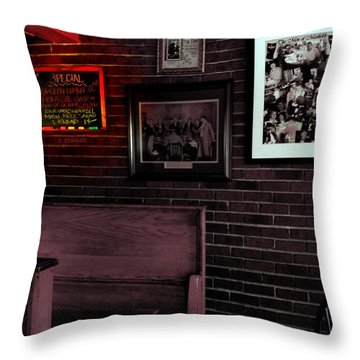 Today's Special  Throw Pillow by Chris Berry