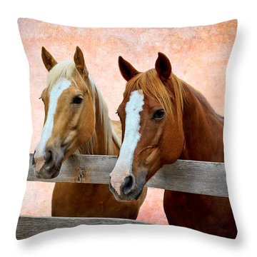 Together Throw Pillow by Doug Long