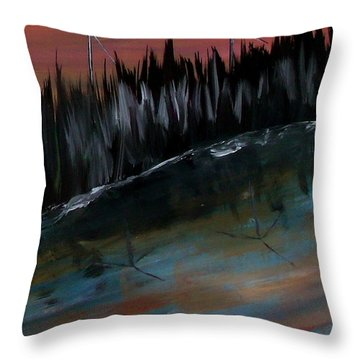 Tomorrow  Throw Pillow by Mark Moore