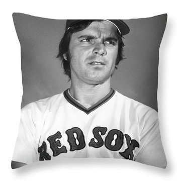Tony Conigliaro (1945-1990) Throw Pillow by Granger