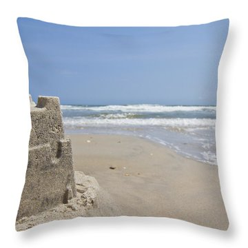 Topsail Castle Throw Pillow