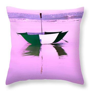 Topsail Drifting Throw Pillow by Betsy Knapp
