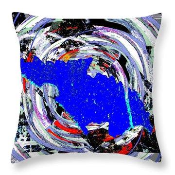 Torn Throw Pillow by Tim Allen