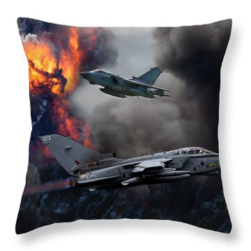 Tornado Gr4 Attack Throw Pillow