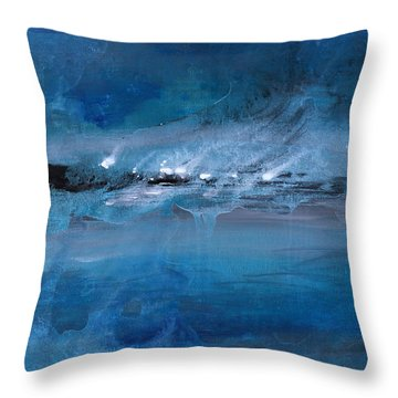 Tortuga Island Throw Pillow by Kume Bryant