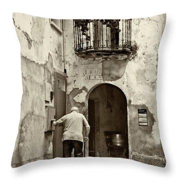 Toward Home Throw Pillow