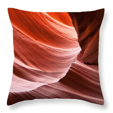 Toward The Light Throw Pillow by Bob and Nancy Kendrick