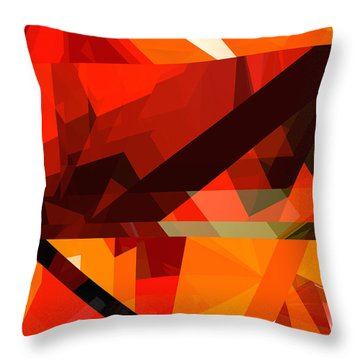 Tower Series 14p Throw Pillow by Russell Kightley