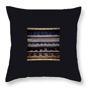 Track Throw Pillows