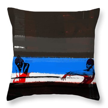Tragic Friendship Throw Pillow