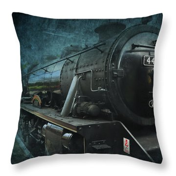 Train Throw Pillow by Svetlana Sewell