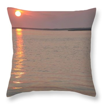 Tranquil And Reflective  Throw Pillow