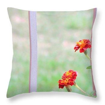 Tranquil Throw Pillow by Sonali Gangane