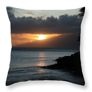Tranquility At Its Best Throw Pillow