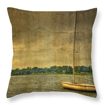 Tranquility Throw Pillow by Debra and Dave Vanderlaan