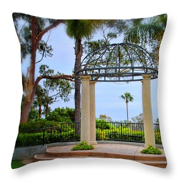 Tranquility Throw Pillow by Diane Wood