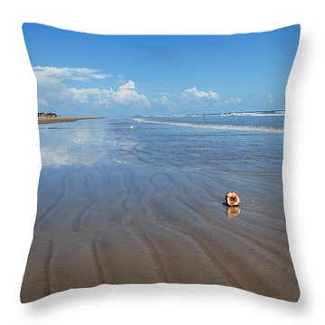 Tranquility Throw Pillow by Fotosas Photography