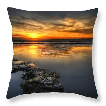 Tranquility Throw Pillow by Svetlana Sewell