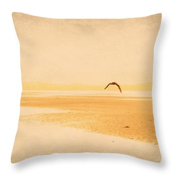 Throw Pillow featuring the photograph Tranquillity by Marilyn Wilson