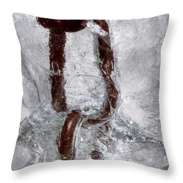 Trapped Throw Pillow by Lisa Knechtel