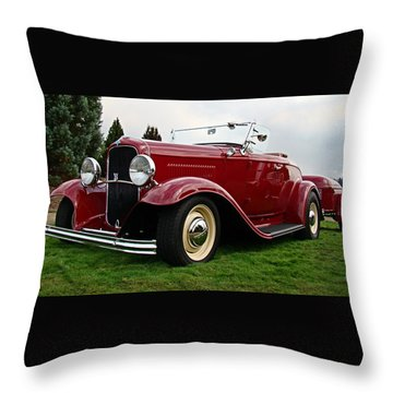 Throw Pillow featuring the photograph Travel Ready by Nick Kloepping