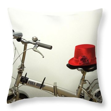 Traveling In Style Throw Pillow by Renee Trenholm