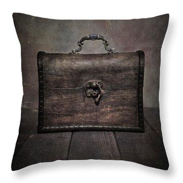 Treasure Throw Pillow by Joana Kruse