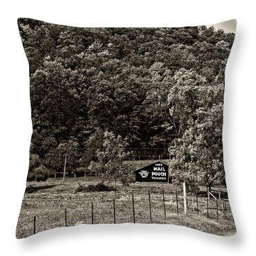 Treat Yourself Sepia Throw Pillow by Steve Harrington