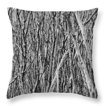 Tree Cemetery V2 Throw Pillow