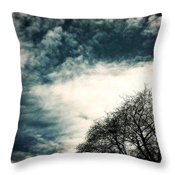 Tree Crown Throw Pillow by Joana Kruse