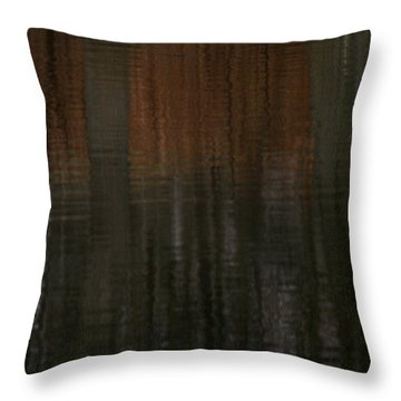 Trees Of April Throw Pillow by Karol Livote