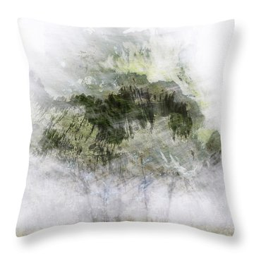 Trees Within Trees Throw Pillow by Carol Leigh
