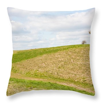 Treesome  Throw Pillow by Semmick Photo