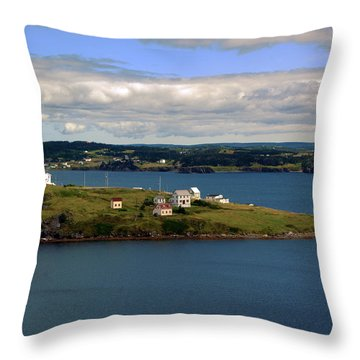 Trinity Bay Throw Pillow by Leanna Lomanski