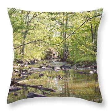 Trinity Foundry Throw Pillow