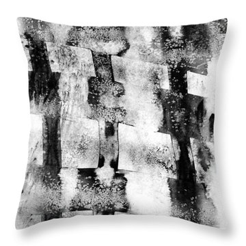 Trinity Throw Pillow by Hakon Soreide