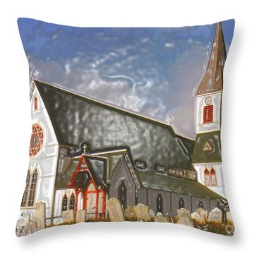 Throw Pillow featuring the photograph Trinity  by Lydia Holly