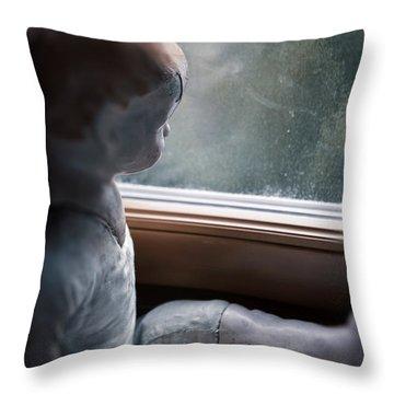 Tristesse Throw Pillow by Joana Kruse