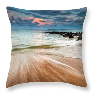 Tropic Sky Throw Pillow
