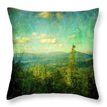 Truckee Trails Throw Pillow